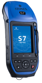 S7G GNSS modtager med Carlson SurvCE software