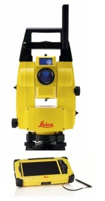 "iCON Robot 55, 5"" Robotic Total Station & iCON build Field Software & CC61 7"" Tablet PC med long-range Bluetooth Kit"